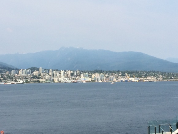 View of Vancouver and False Creek